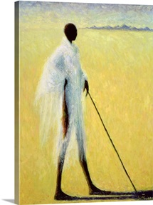 Long Shadow, 1993 (oil on canvas)
