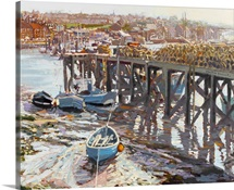 Low Tide (Whitby, North Yorkshire) 2006 (oil on board)