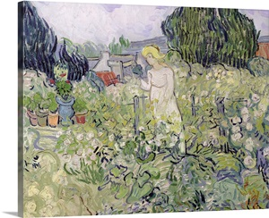 Mademoiselle Gachet In Her Garden At Auvers Sur Oise 1890 Oil On Canvas Photo Canvas Print