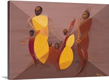 Mango Jazz, 2006 (oil and acrylic on canvas)