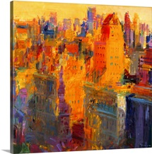 Manhattan, 2011 (oil on canvas)