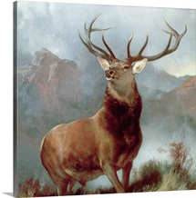 Monarch of the Glen, 1851 (oil on canvas)