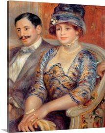 Monsieur et Madame Bernheim de Villers, 1910 (oil on canvas)