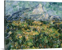 Mont Sainte Victoire, 1904 05 (oil on canvas)
