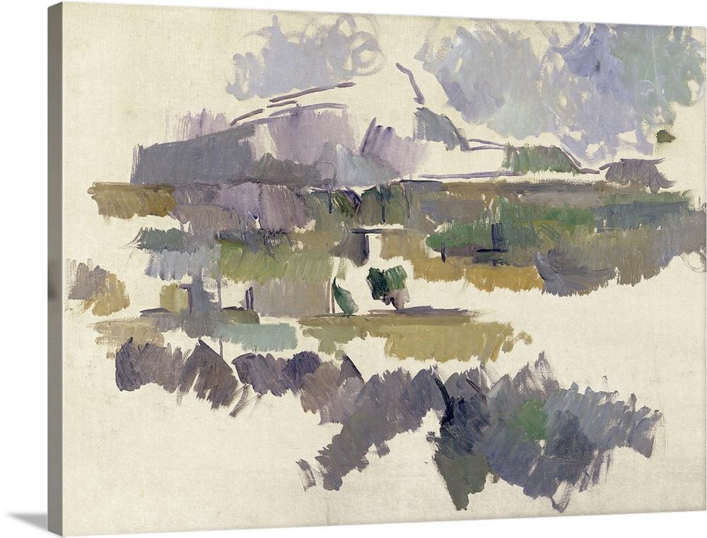 Montagne Sainte Victoire, 1904 05 (oil on canvas)