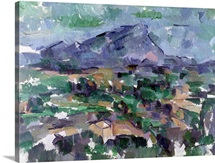 Montagne Sainte Victoire, 1904 06 (oil on canvas)