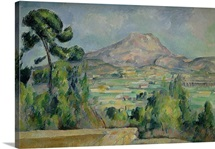 Montagne Sainte Victoire, c.1887 90 (oil on canvas)