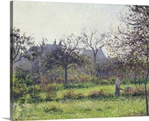 Morning Sun, Autumn, Eragny, 1897 (oil on canvas)