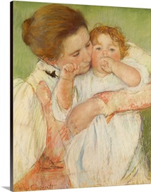 Mother and Child, 1897 (pastel on paper)