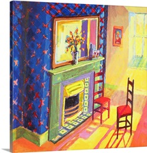 Moving In, 2000 (acrylic on canvas)