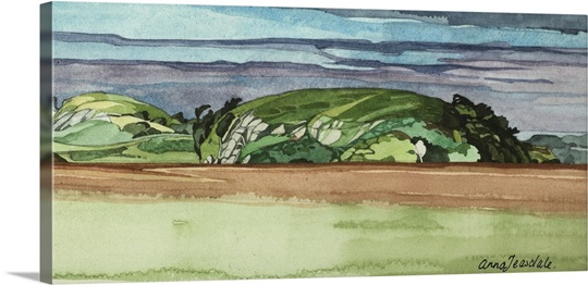 Near Dervaig, 2000 (w/c on paper)