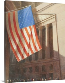 New York Stock Exchange, 2010 (acrylic on canvas)