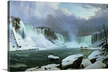 Niagara Falls (oil on canvas)