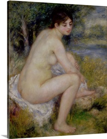 Nude in a Landscape, 1883 (oil on canvas)