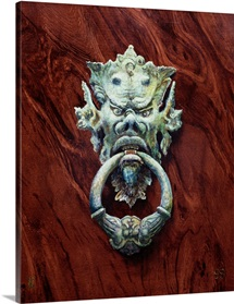 One Pair of Tuscan Knockers (Devil) 1998 (oil on board)