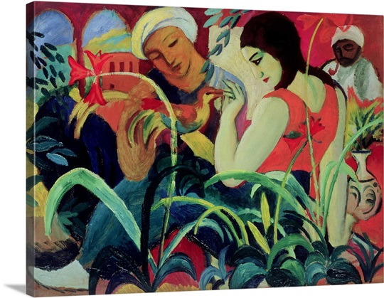 Oriental Women (Odalisques), 1912 (oil on board)
