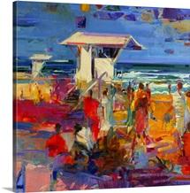 Palm Beach, Florida, 2011 (oil on canvas)