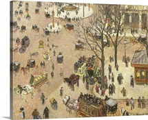 Place du Theatre Francais, 1898 (oil on canvas)