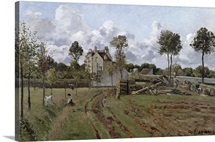 Pontoise Landscape, c.1872 (oil on canvas)