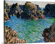 Port-Goulphar, Belle-Ile, Brittany, 1886 (oil on canvas)