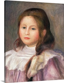 Portrait of a child, c.1910 12 (oil on canvas)