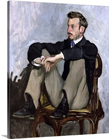 Portrait of Auguste Renoir (1841 1919), 1867 (oil on canvas)