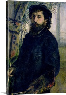 Portrait of Claude Monet (1840 1926) 1875 (oil on canvas)