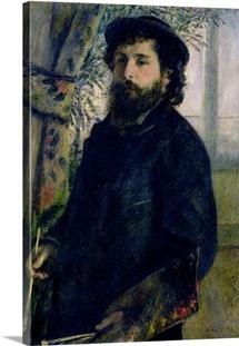 Portrait of Claude Monet (1840 1926) 1875 (oil on canvas)