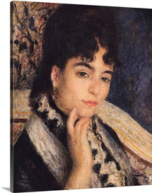 Portrait of Madame Alphonse Daudet (1844 1940) 1876 (oil on canvas)