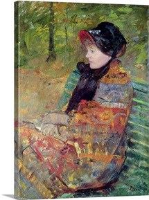 Portrait of Mlle C. Lydia Cassatt, 1880 (oil on canvas)