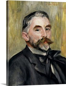 Portrait of Stephane Mallarme (1842 98) 1892 (oil on canvas)