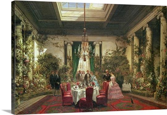 Princess mathilde 39 s salle a manger rue de courcelles for Salle a manger warren