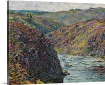 Ravines of the Creuse at the End of the Day, 1889 (oil on canvas)