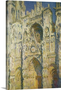 Rouen Cathedral in Full Sunlight: Harmony in Blue and Gold, 1894