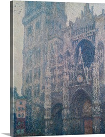 Rouen Cathedral, West Portal, Grey Weather, 1894 (oil on canvas)