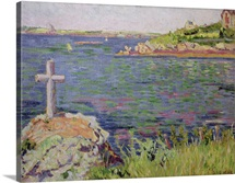 Saint Briac, the Sailors Cross, 1885 (oil on canvas)