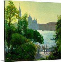 San Giorgio, Venice (oil on canvas)