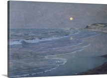 Seascape, c.1892 93 (oil on canvas)