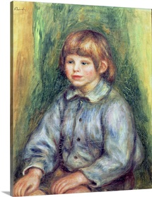 Seated Portrait of Claude Renoir (1901 81) 1905 08 (oil on canvas)