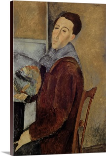 Self Portrait, 1919 (oil on canvas)
