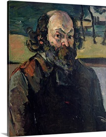 Self Portrait, c.1873 76 (oil on canvas)
