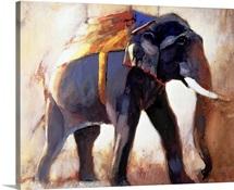 Shivaji, Khana, 1996 (mixed media on paper)