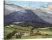 Snowdonia, 1908 (w/c on paper)