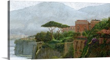 Sorrento Albergo, 2006 (oil on board)