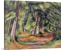 Sous bois (pres du Jas de Bouffan) 1890 94 (oil on canvas)