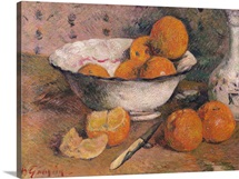 Still life with Oranges, 1881 (oil on canvas)
