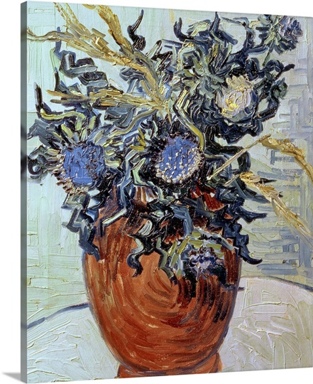 Still Life with Thistles, 1890