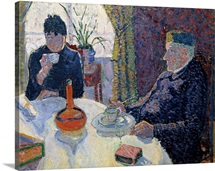 Study for The Dining Room, c.1886 (oil on canvas)