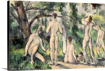 Study of Bathers, c.1895 98 (oil on canvas)