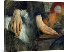 Study of Hands, 1859 60 (oil on canvas)